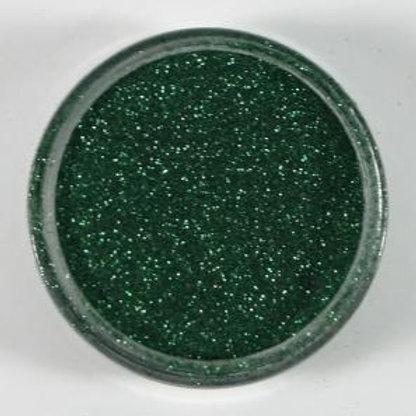 Polished Silk Glitter - Hunter Green