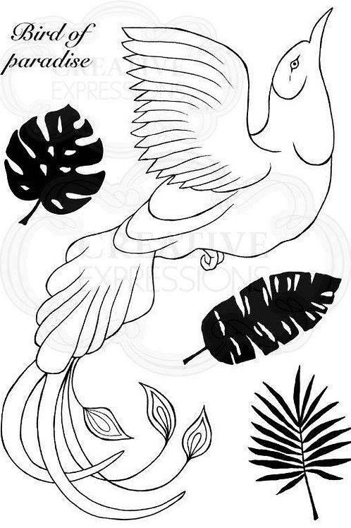 Paradise Bird - Clear Stamp