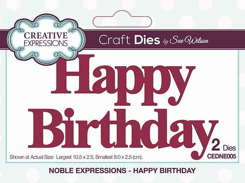 Happy Birthday -Die
