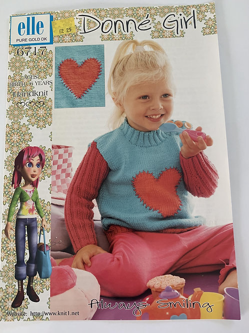 DK Children's Sweater Pattern
