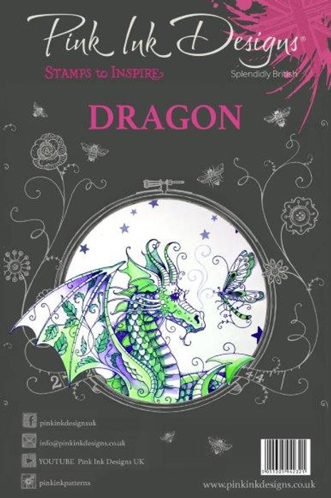 Pink ink - Dragon