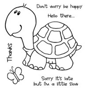 Turtle - Clear Stamp