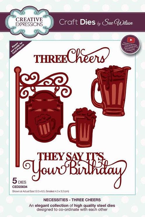 Sue Wilson - Three Cheers