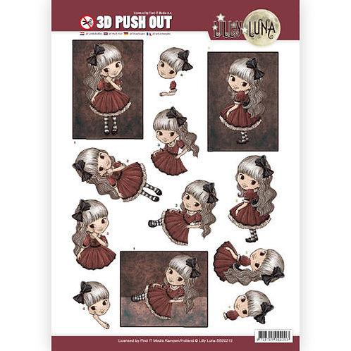 copy of Lily Luna - Die Cut Decoupage sheet