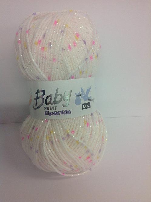 Baby Print Sparkles - Tuttifrutti