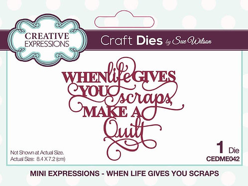 When Life Gives You Scraps...  Die