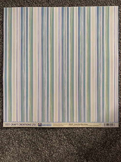 12 X 12 Craft Creations -Stripes