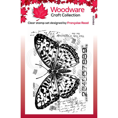 Clear Stamp - Butterfly