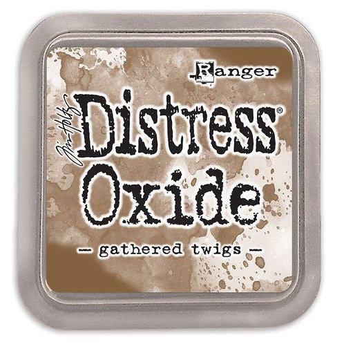 Distress Oxide - Gathered twigs