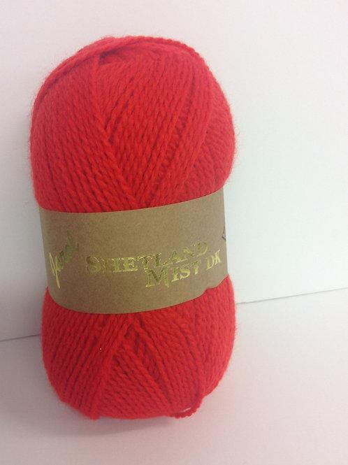 Soft Shetland Double Knit - Flame