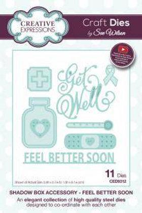 Feel Better Soon - Craft Die