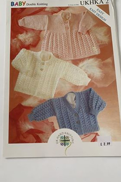 Baby DK Cardigan & Matinee Pattern