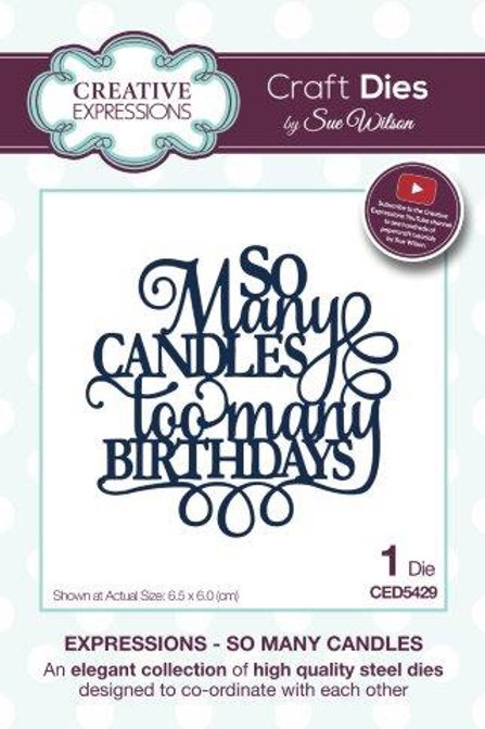 Sue Wilson - So many candles