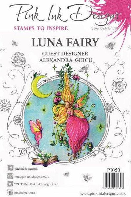 Pink ink - Luna Swirls