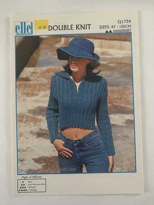 DK Ladies Sweater Pattern