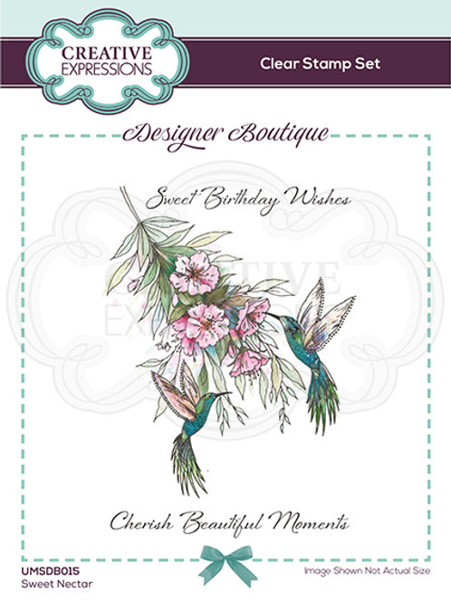 Designer Boutique - Clear Stamps - A6