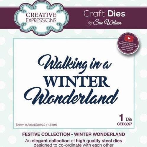 Sue Wilson - Walking in a winter wonderland