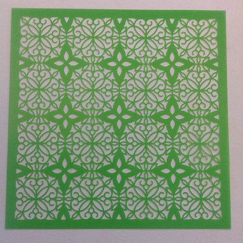 "Tile Pattern 6""x6"" designer template"