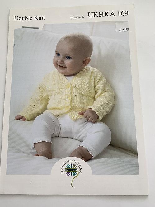 Baby DK Cardigans Pattern