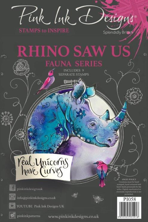 Pink ink - Rhino