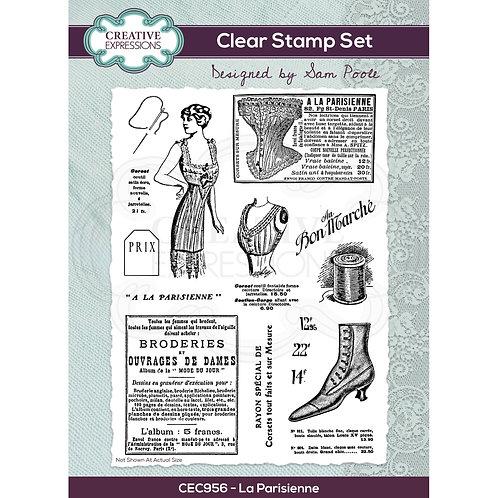 LA Parisienne - Clear stamp*