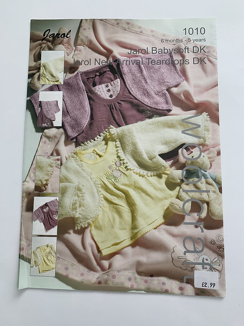 Baby DK Boleros Pattern