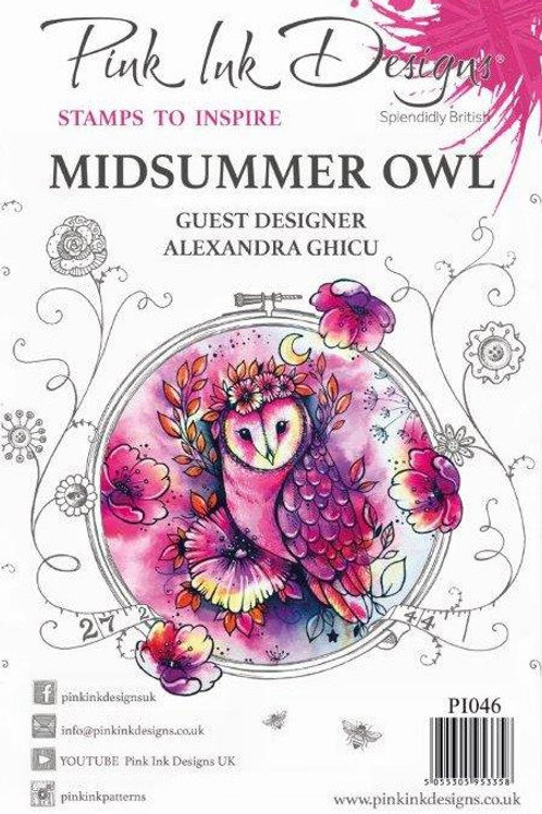 Pink ink - Midsummer Owl