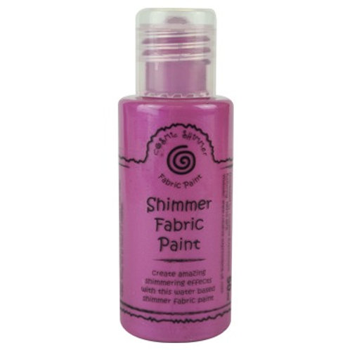 Hot Pink - Shimmer - Fabric Paint
