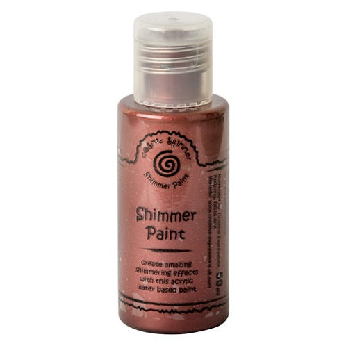 Victorian Red - Shimmer Paint - 50ml