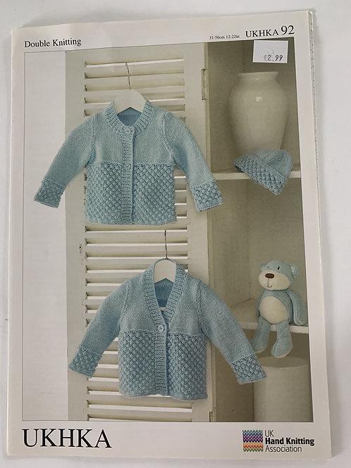 DK Baby Cardigan Pattern