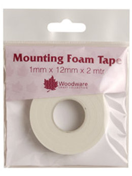 1mm Thick - Foam Tape on a roll - 12mm wide x2m length*