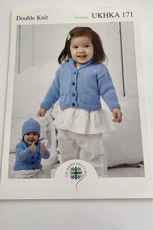 Baby DK Jacket, Blanket & Hat Pattern
