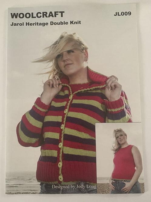 DK Ladies Cardigan & Top Pattern