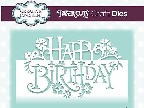 Papercuts - Happy Birthday