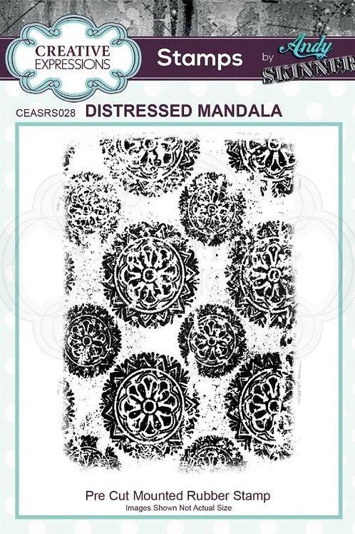 Distressed Mandala