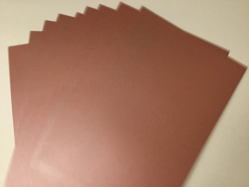 Pearl card - 10 pack - 300gsm -Redwood