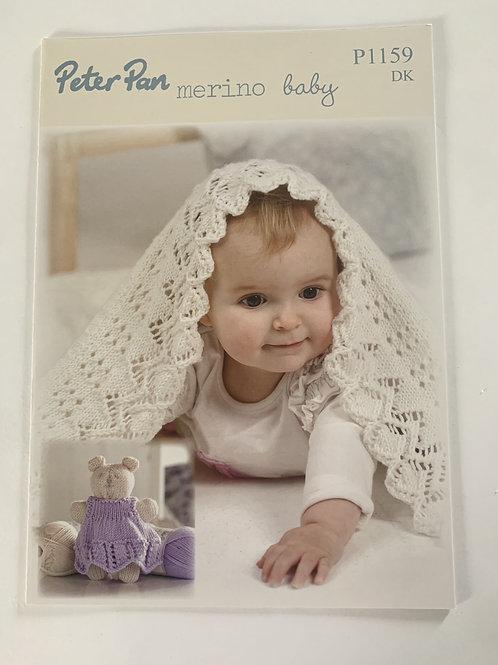 DK Baby Blanket & Teddy Pattern
