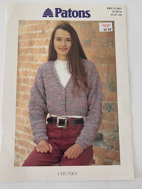 Chunky Ladies Sweater Pattern