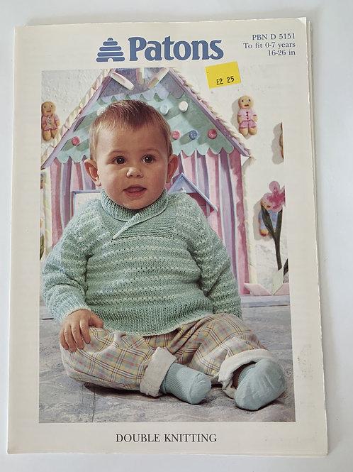 DK Baby Sweater Pattern