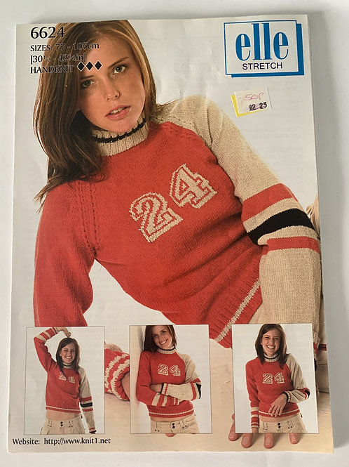 DK Ladies Sweater Pattern