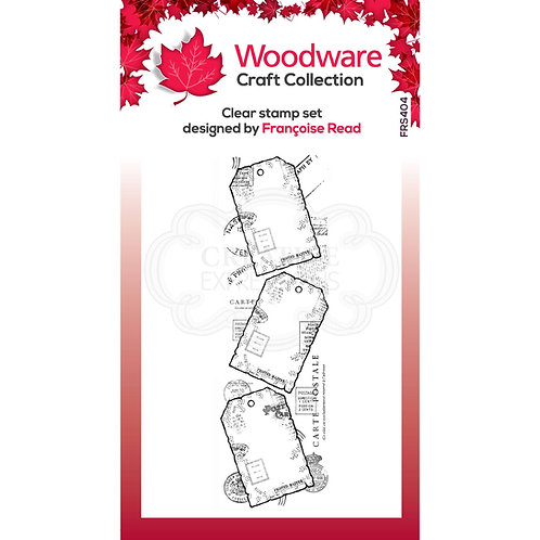 Clear Stamp -Three Tags