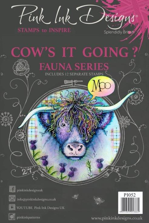 Pink ink - Cow's it going?