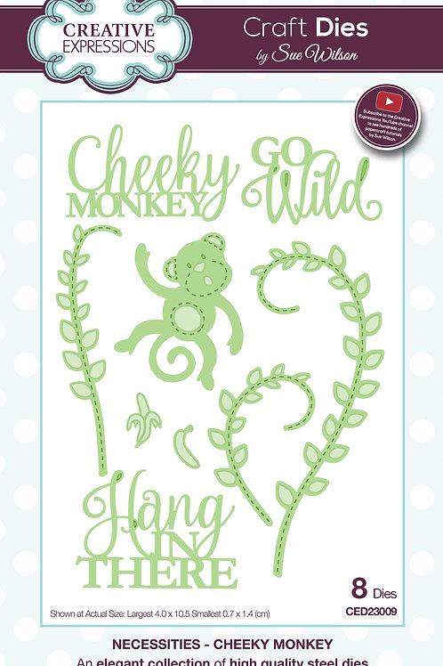 Cheeky Monkey - Craft Die