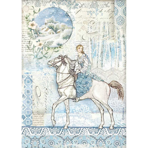 A4 - Rice Paper - Horse
