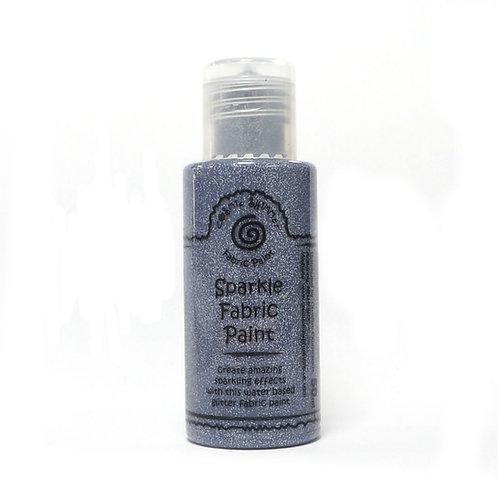 Victorian Silver - Sparkle - Fabric Paint