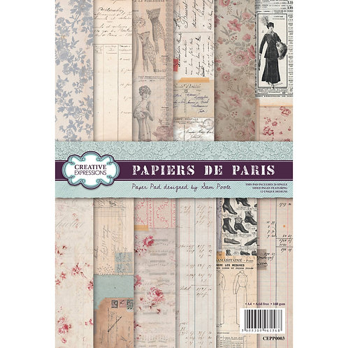 Papiers de Paris - A4 Paper pad*