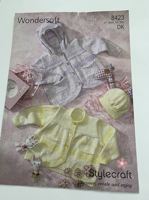 Baby DK Baby Jacket & Hat Pattern