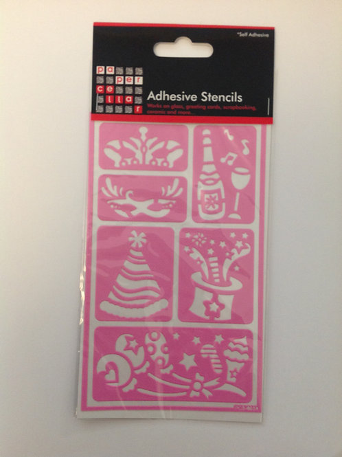 Adhesive Stencils