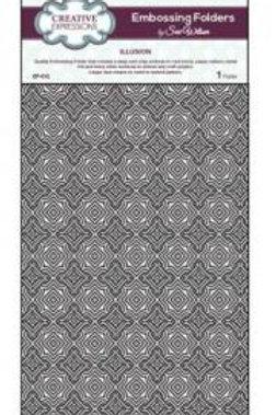 A4 Illusion Embossing Folder