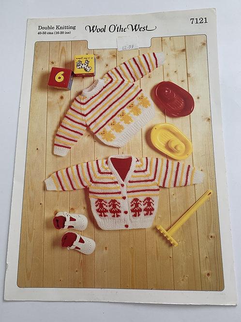 Baby DK Sweater & Cardigan Pattern